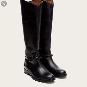 Frye Melissa Tall Seam Riding Boots Leather